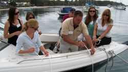 Complimentary Ladies Boat Handling Clinic